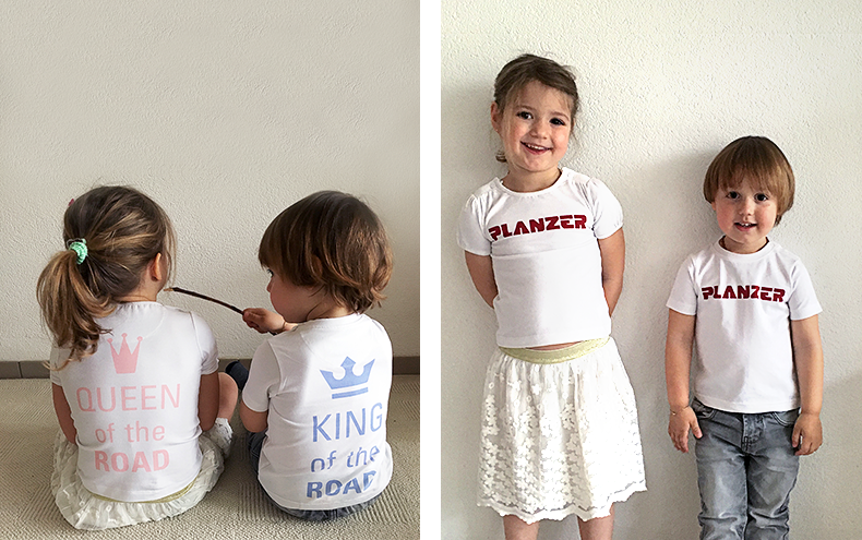 Planzer T-Shirt King (Boys) / Kindergrösse
