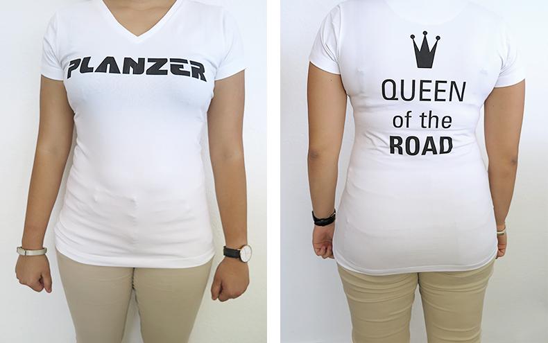 Planzer T-Shirt Queen / (Damen)