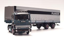 Sattelschlepper Scania 140, Massstab 1:50