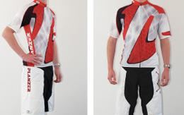 Bike-Bekleidung / Hose und Shirt / 100% Polyester