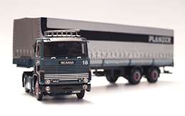 truck Scania 140, measure 1:50