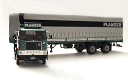 truck Volvo F88, measure 1:50