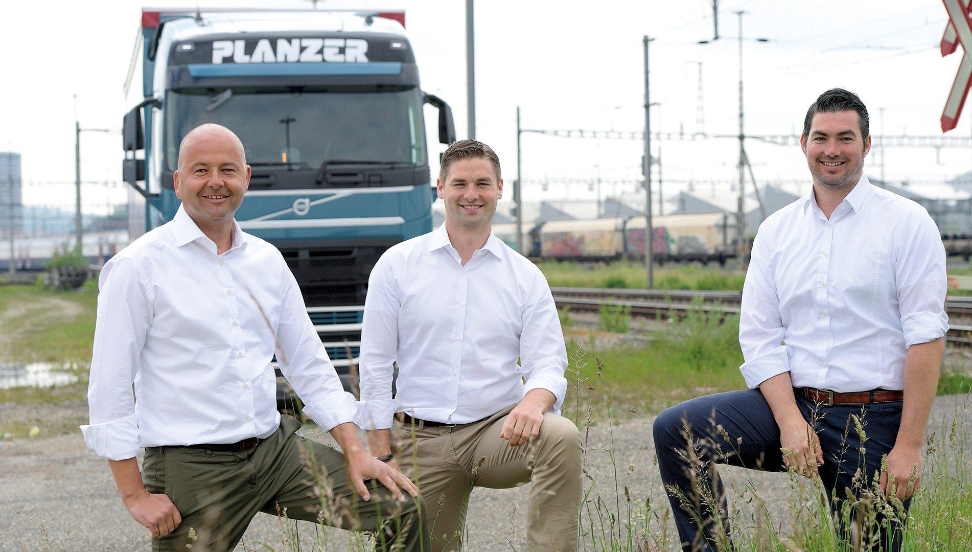 Von Generation Zu Generation Richtung Zukunft Planzer Transport Ag