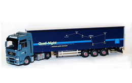 Model Quali-Night Original-Plane / 1:50 / 5 Achs MAN TGX-XXL /Tekno