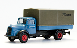 Model Mercedes Benz L311, year 1954, measure 1:87